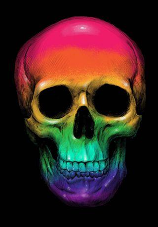 Poster Sweet SKull do Studio Digitalcarbine por R$55,00