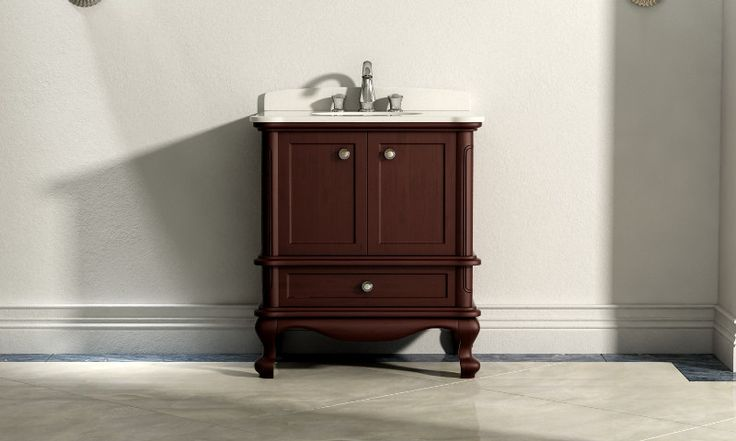 Inspirational solid Wood Bathroom Wall Cabinet
