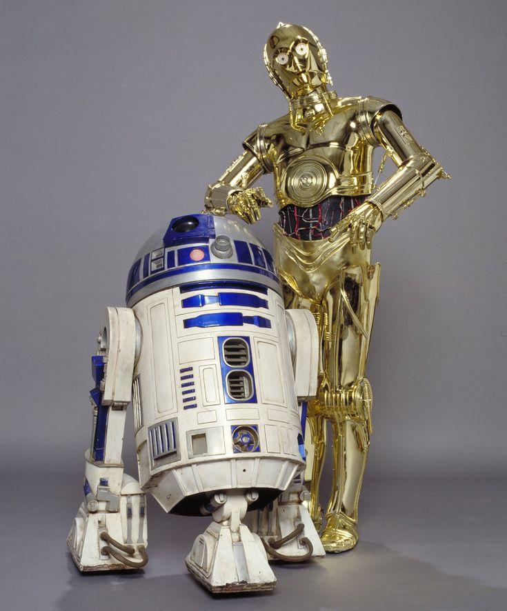 R2-D2 & C-3PO back together again for Star Wars Episode VII! #starwars