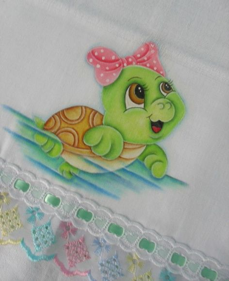 Fralda de ombro 6 - Tartaruga