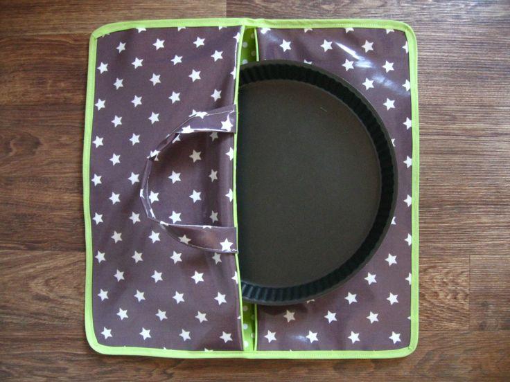 Pie bag week - Semaine du sac à tarte - #4 *** Tutorial / Tutoriel *** - Les dix doigts de Mrs Monkey