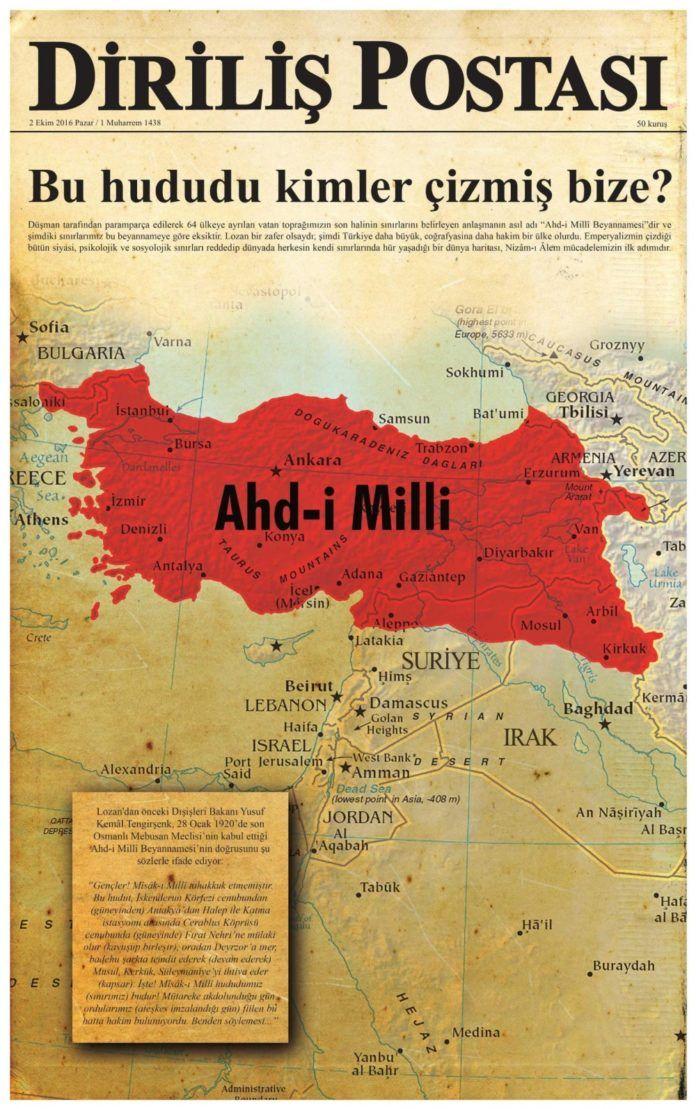 O «Εθνικός Όρκος» των Τούρκων και η αναπόφευκτη σύγκρουση με την Ελλάδα