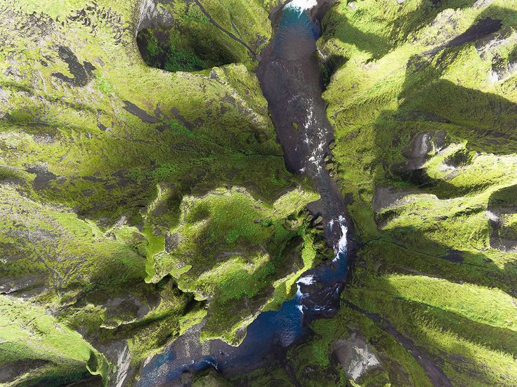 Iceland From Above: Aerial Photography by Kevin Krautgartner