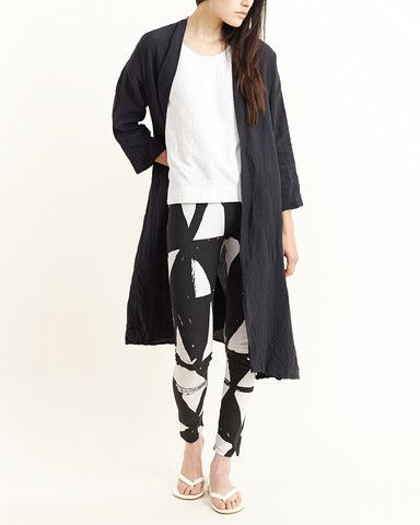 Perks and Mini - Kamayura Leggings in White/Black $170