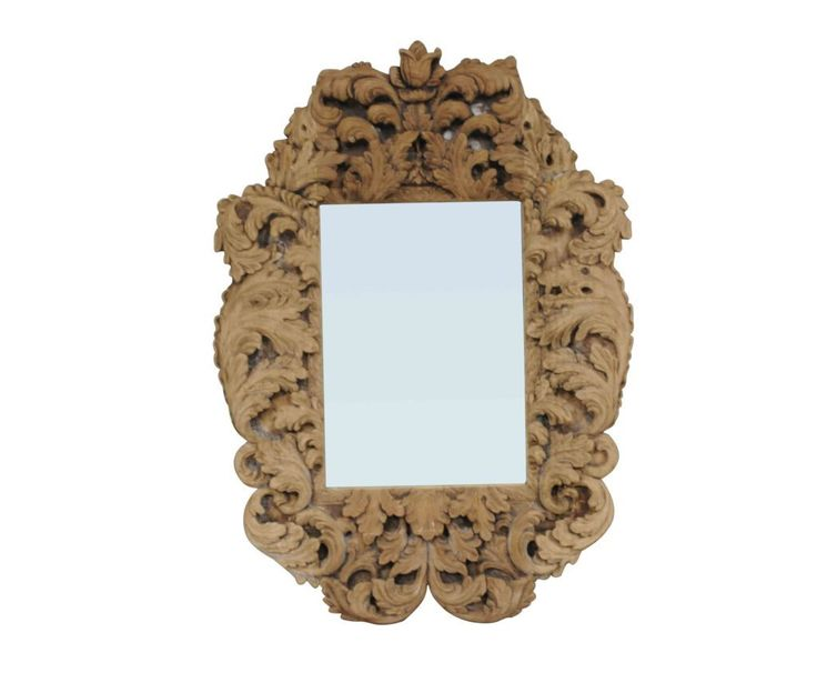 zrcadlo s ručně vyřezávaným rámem /  stylový  toskánský nábytek