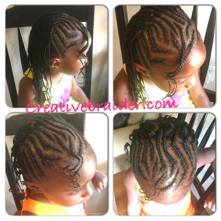 Kids styles #braids #designs #cornrows #kids #braidstyles