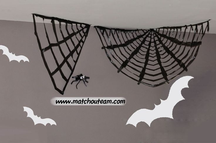 Ma Tchou team: Toile araignée géante... Bôoo!