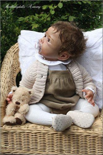 LE Amazing Big Baby Girl * Lila * Romie Strydom - Reborn Realbabydolls Nursery | eBay