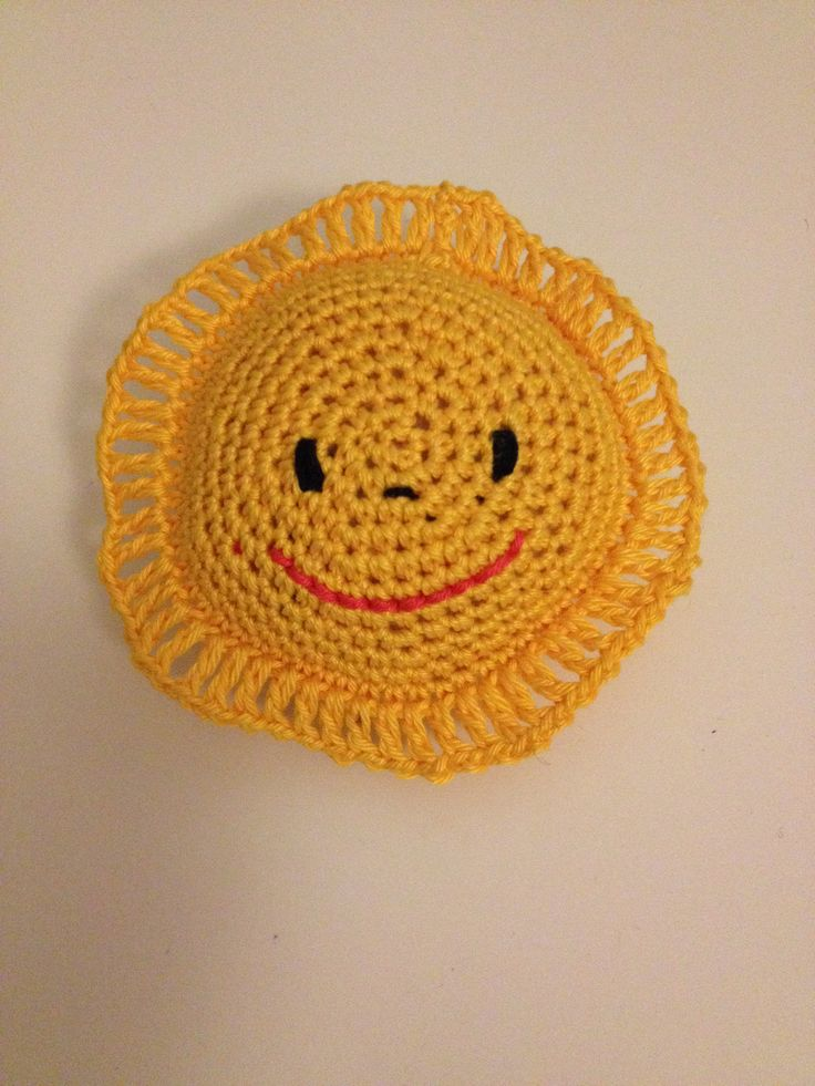 Crochet sun