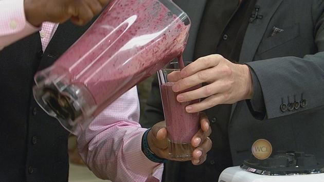 Purple power Smoothie - from dr Ian smith, author of detox/cleanse books