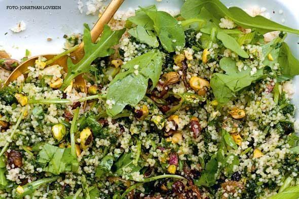 Makkelijk recept voor een vegetarische couscous