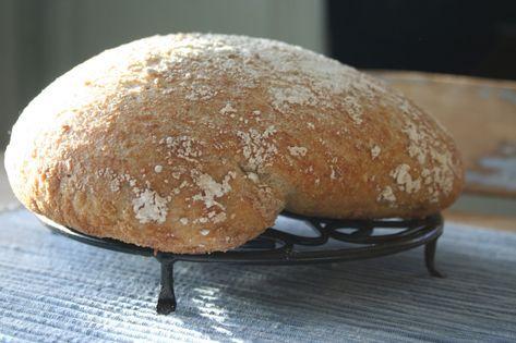 Gluten- og melkefritt eltefritt havrebrød