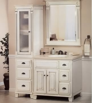Bathroom countertop cabinet Bathroom Pinterest