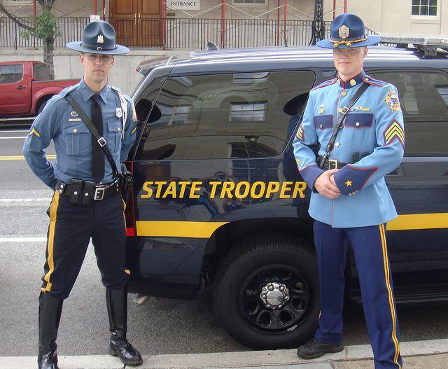 Delaware State Police & Alaska State Police by 10-42Adam, via Flickr