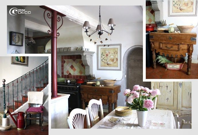 la cuisine esprit proven al du mas de boh me pinterest french country french. Black Bedroom Furniture Sets. Home Design Ideas