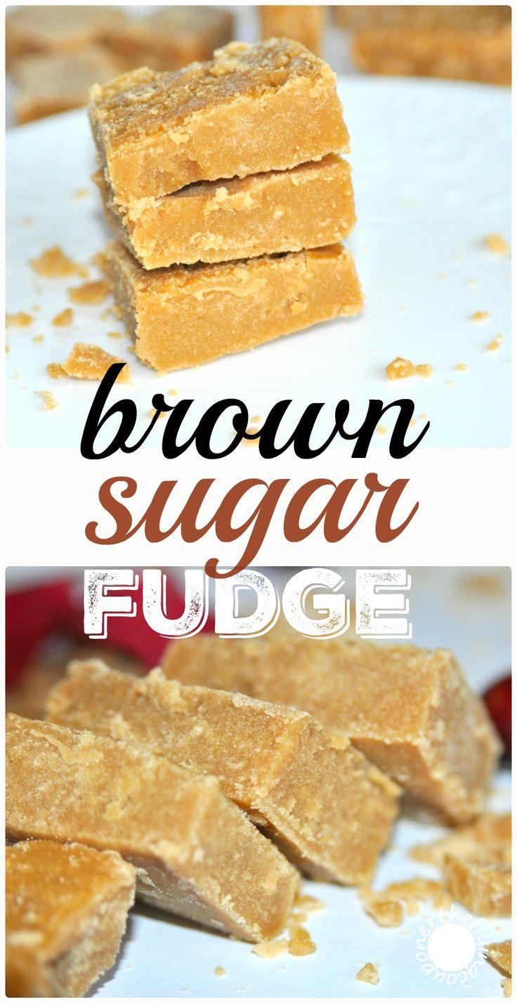 Easy brown sugar fudge, penuche or sucre à la crème. Authentic Family Recipe.