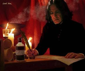 """xpolyjuicepotion: """"Severus Snape, this is breathtaking! """""""