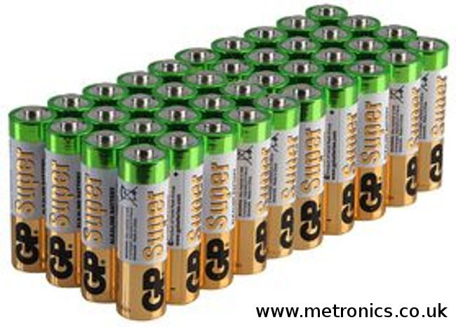 Aa Alkaline Battery 36 Pack 36 Batteries Also Known As Lr6 Pencil Batteries Gp Alkaline Battery Batteries Pencil