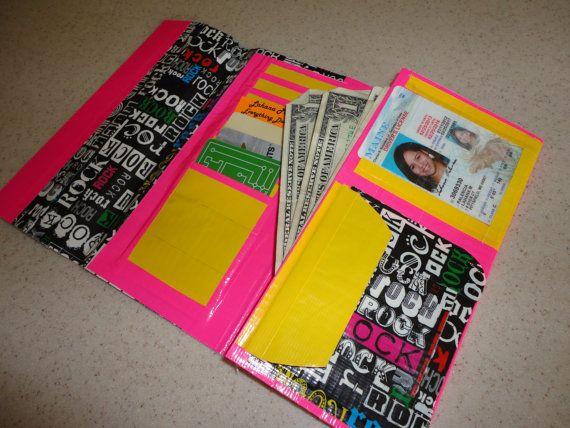Duck / Duct Tape vrouwen koppeling portemonnee van lahanap op Etsy