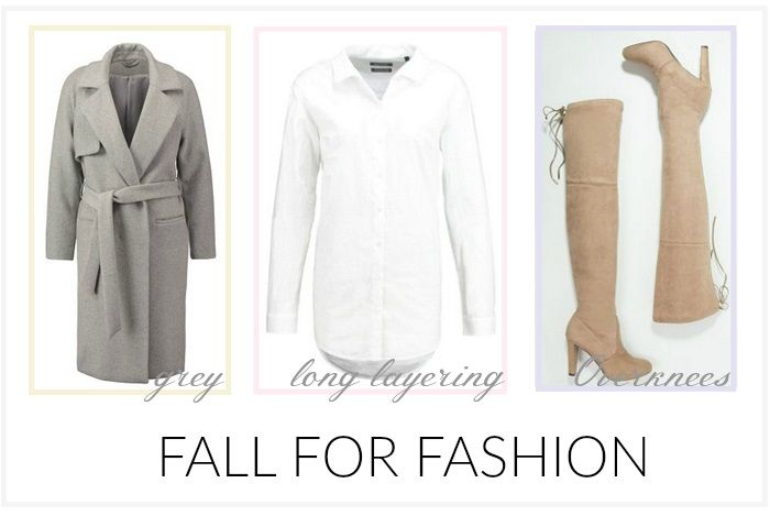 Fall for Fashion - Grau, Long Layering, Overknees