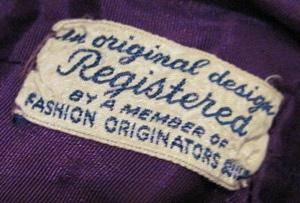 FOGA Vintage 1930s Label by wearitsatvintage, via Flickr