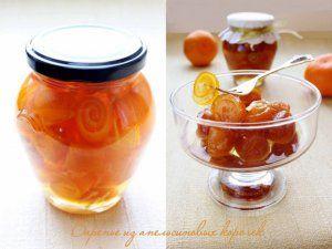 Варенье из апельсиновых корочек - кулинарный рецепт
