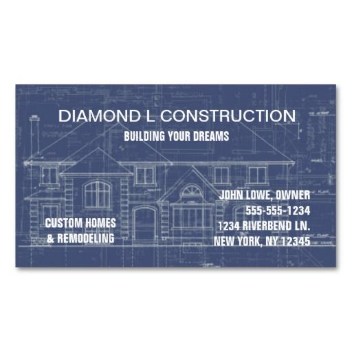 272 best construction business cards images on pinterest card construction business card reheart Images