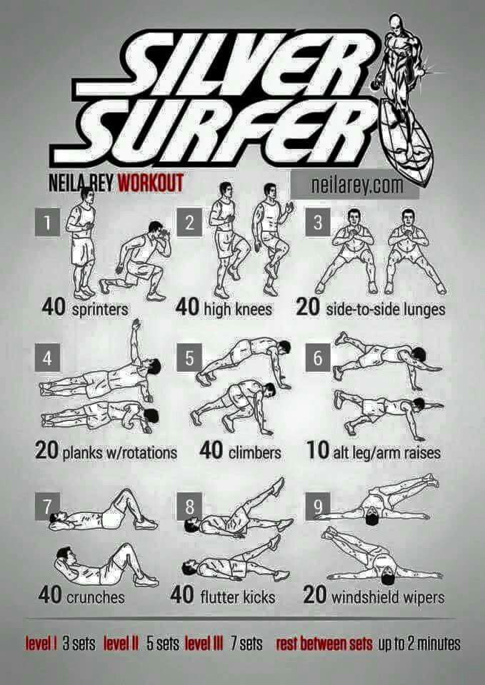 The Silver Surfer Workout