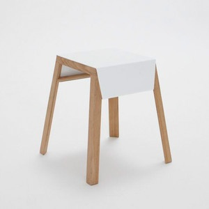 Aino Stackable Stool White