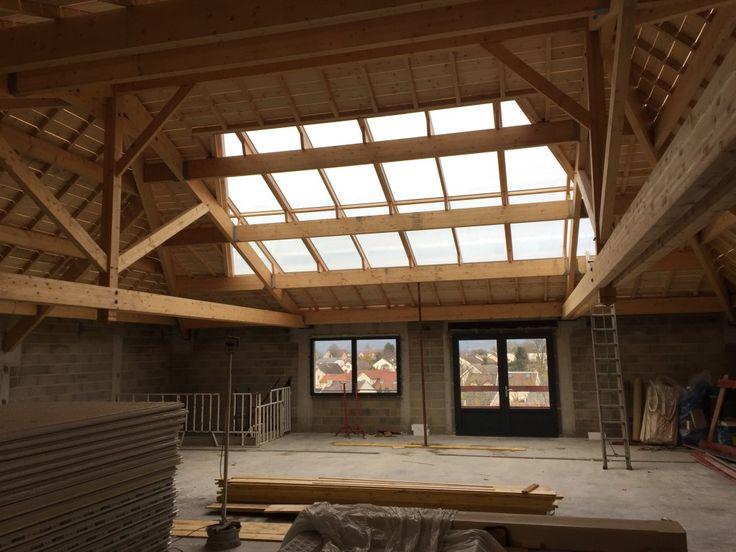 Toiture Zinc   Atelier Bailleul   Verriere de toit, Structure de toit, Zinc toiture