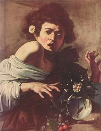 Boy Bitten by a Lizard - Caravaggio