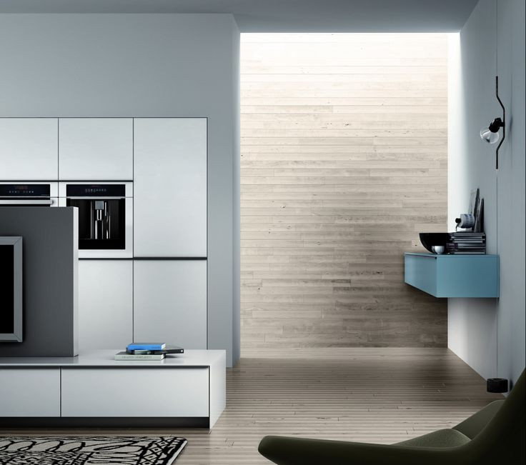 Tall units for kitchen, Glass model by Logos