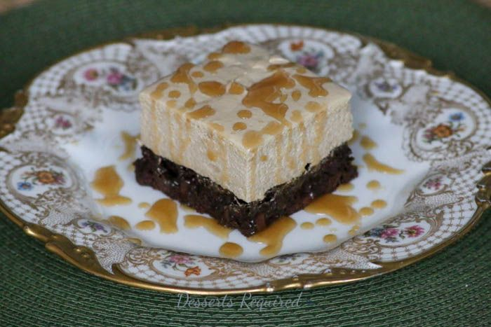Caramel Macchiato Brownies #FWConf - Desserts Required