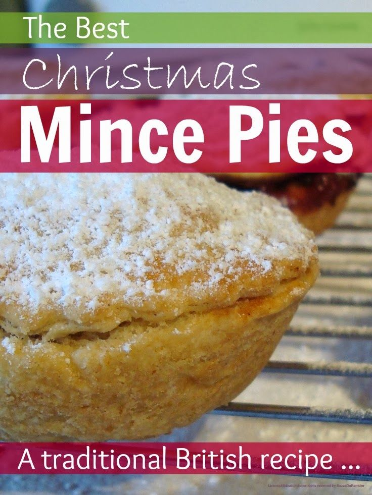 A traditional British recipe for scrumptious Christmas mince pies - if you haven't tried them you must! @Mums make lists ...