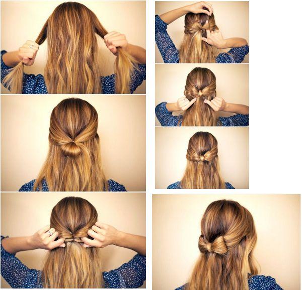 ¡Dale a tu cabello un estilo sweet y súper fashion con éste peinado súper fácil!