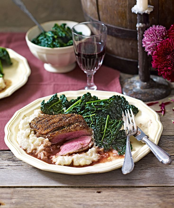 A sophisticated duck recipe, ideal for a dinner party.