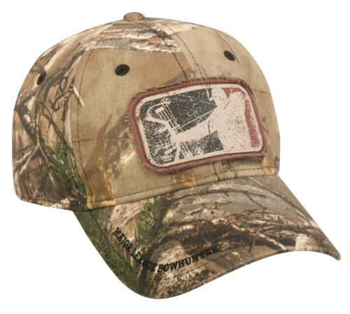 Realtree Camo Major League Bowhunter Hunting Hat Realtree Xtra Size One size fits most