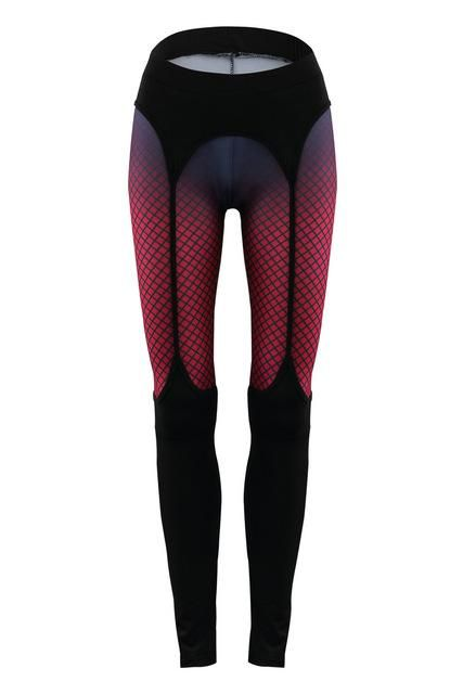 Womens Print Sexy Bodycon Bandage Fitness Leggings For Ladies Fashion Elastic Skinny Workout Active Pants Trousers Drop Shipping