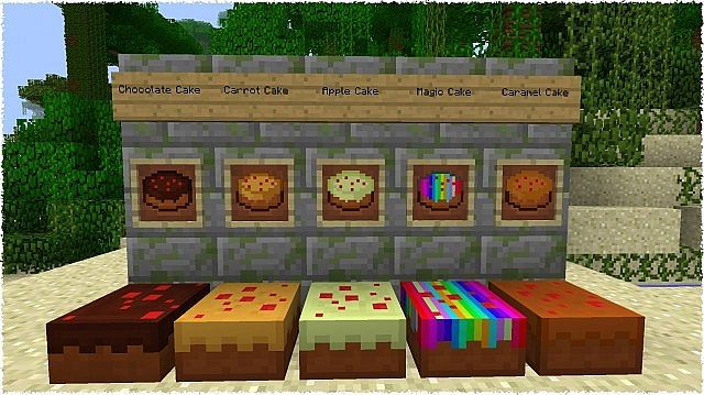1.6.4][FORGE][EN/DE] FOODEX 1.6.2 - ENJOY YOUR MEAL! Minecraft Mod