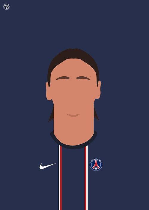 Zlatan Ibrahimovic #PSG
