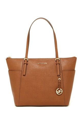 Jet Set Large Leather Tote