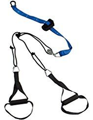 SportPlus Sling Trainer Professional Handles, with door anchor, Snap Hook and Transport Bag, tested for harmful substances