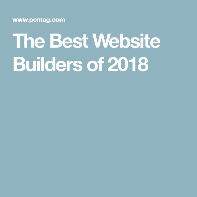 The Best Website Builders of 2018