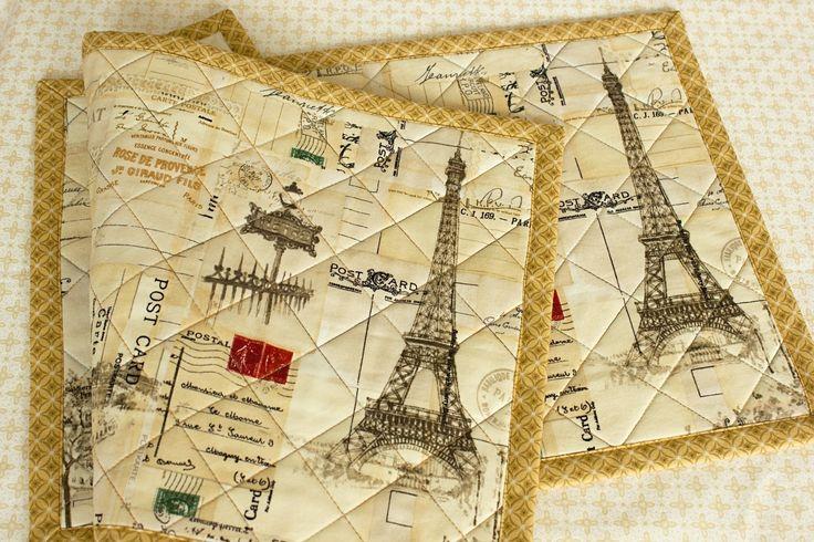 Prostírání I DREAM OF PARIS / sada 2 ks