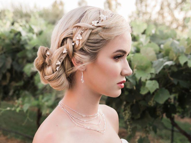 Floral Vine Wedding Hair Vine Envogue HJ1940