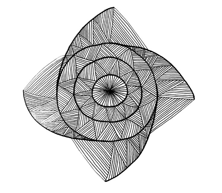 Snail House #snail #house #patterns #zentangle #mandala #selfmade #handmade #drawn #symmetry #flower #circle #black and white