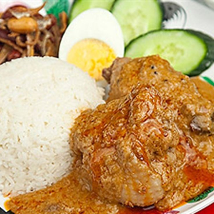 Try this Nasi Lemak With Curry Chicken recipe by Chef LifeStyle FOOD.