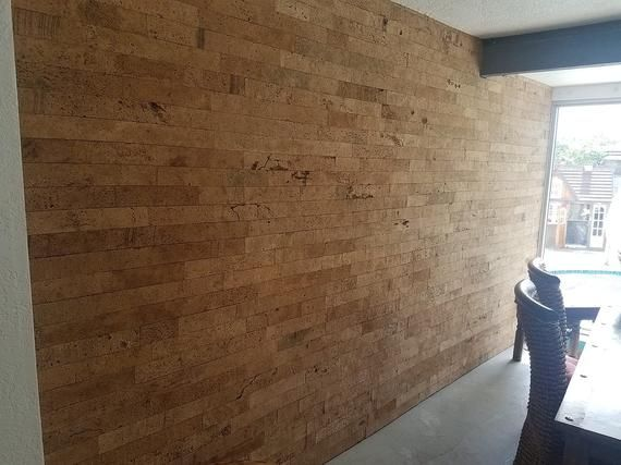 Cork Brick Wall Tile For Feature Walls Bath Living Room Etsy Feature Wall Wall Tiles Feature Wall Living Room