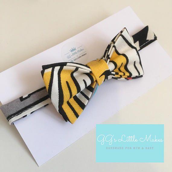 SALE Pop art retro Bow Tie Alternative Bow Tie Toddler Bow