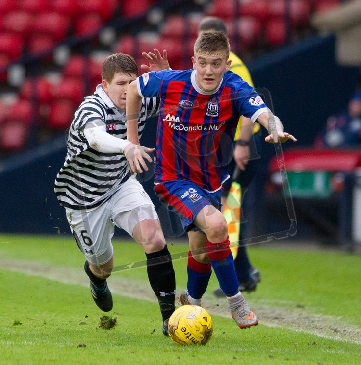 Elgin City's Kyle McLeod on the ball during the SPFL League Two game between Queen's Park and Elgin City.